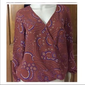 Three Eighty Two Floral CS Blouse